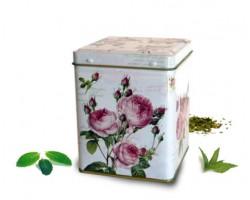 Boite carré rose - 100g