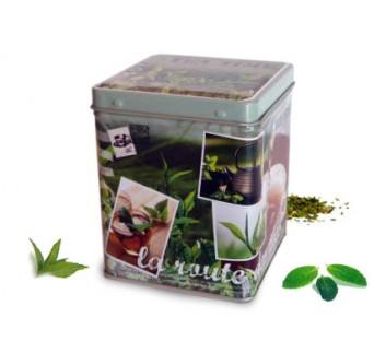 Boîte carré La route des thés - 100g