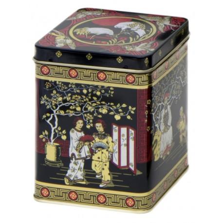 Boîte noire motif chinois 200g