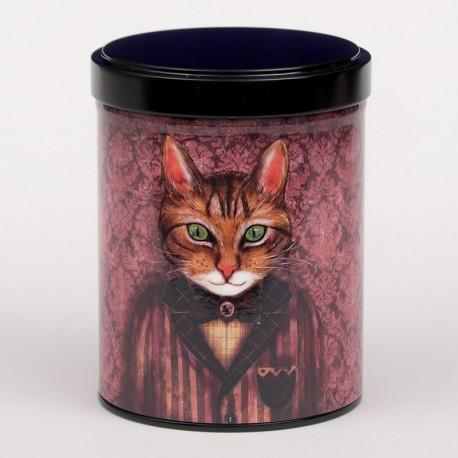Boîte à thé chat 125g