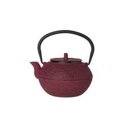 Théière fonte takayama rouge